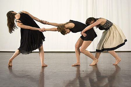 Cours de danse contemporaine de Claire Salomon