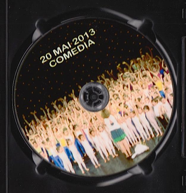DVD 20 mai 2013 Comedia